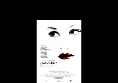 """Poster de la película """"¿Iguales?"""".  Bandas sonoras cine - Nacho Martín - Músico y compositor"""