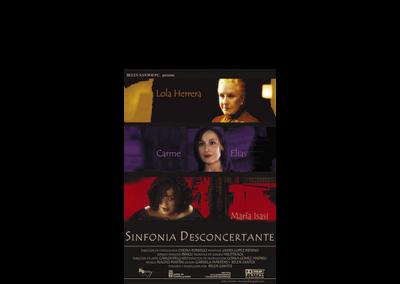 Poster sinfonía desconcertante - Bandas sonoras cine - Nacho Martín - Músico y compositor